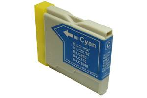 Brother LC51C Compatible Cyan Ink Cartridge for MFC-240 3360 440 5460 5860 665