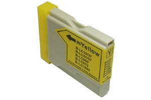 Brother LC51Y Compatible Yellow Ink Cartridge for MFC-240 3360 440 5460 5860 665