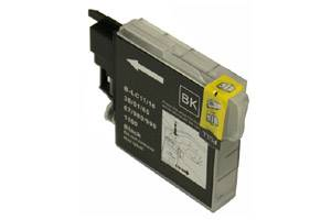 Brother LC61BK Compatible Black Ink Cartridge for DCP-165 585 MFC-290