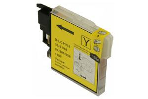 Brother LC61Y Compatible Yellow Ink Cartridge for DCP-165 585 MFC-290