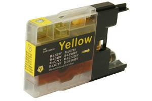 Brother LC71Y Yellow Compatible Ink Cartridge for MFC-J280 J425 J435