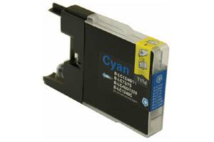 Brother LC75C Compatible Cyan Ink Cartridge for MFC-J280 J425 J6510