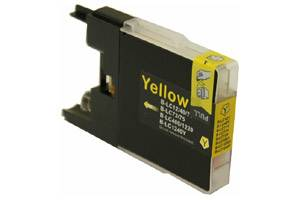 Brother LC75Y Compatible Yellow Ink Cartridge for MFC-J280 J425 J6510