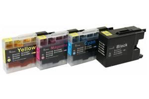 Brother LC79 Compatible Black & Color Ink Set MFC-J5910 J6510 J6710