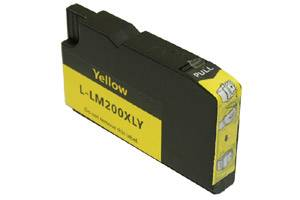 Lexmark 14L0177 (#200XL) High Yield Yellow Compatible Ink Cartridge