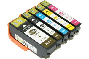 Epson T410XL Black & Color High Yield Ink Cartridge Set XP-530 XP-830