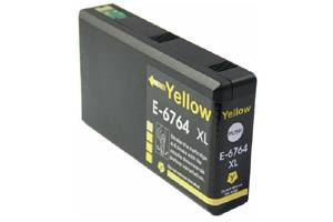 Epson T676XL420 676 Yellow Compatible Ink Cartridge WP-4010 4090 4530