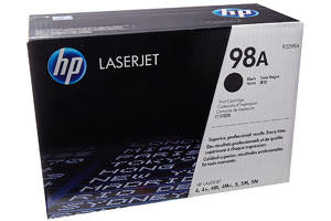 HP 92298A [OEM] Genuine Toner Cartridge for LaserJet 4 4M 5 5M 6