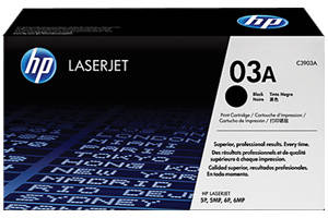 HP C3903A [OEM] Genuine Toner Cartridge for LaserJet 5P 5MP 6P 6MP