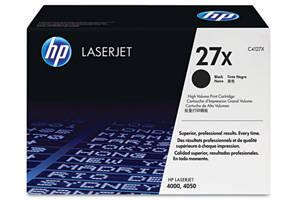 HP C4127X / 27X [OEM] Genuine Toner Cartridge for LaserJet 4000 4050
