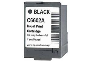 HP C6602A Black OEM Genuine Inkjet Cartridge for IJ6080 IJ7100