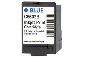 HP C6602B Blue OEM Genuine Inkjet Cartridge for IJ6080 IJ7100