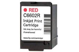 HP C6602R Red OEM Genuine Inkjet Cartridge for IJ6080 IJ7100