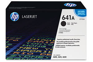 HP C9720A [OEM] Genuine Black Laser Toner Cartridge for LaserJet 4600