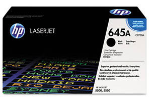 HP C9730A 645A [OEM] Genuine Black Toner Cartridge LaserJet 5500 5550
