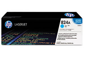 HP CB381A Cyan [OEM] Genuine toner cartridge for CP6015 CM6030 CM6040