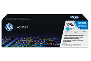 HP CB541A [OEM] Genuine Cyan Toner for LaserJet CP1215 CP1515 CP1518