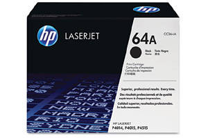 HP CC364A [OEM] Genuine Black Toner Cartridge for LaserJet P4014 P4015
