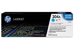 HP CC531A Cyan [OEM] Genuine Toner Cartridge for CP2025 CM2320