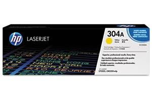 HP CC532A Yellow [OEM] Genuine Toner for CP2025 dn/n/x CM2320 fxi/n/nf