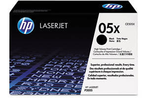HP CE505X [OEM] Genuine High Yield Black Toner for LaserJet P2055