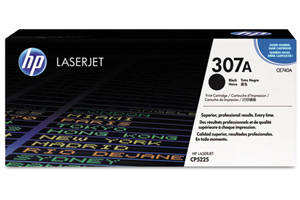 HP CE740A Black [OEM] Genuine Toner Cartridge for Laserjet CP5225