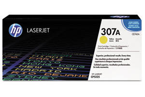 HP CE742A Yellow [OEM] Genuine Toner Cartridge for Laserjet CP5225