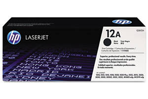 HP Q2612A / 12A [OEM] Genuine Toner Cartridge for LaserJet 1010 3020
