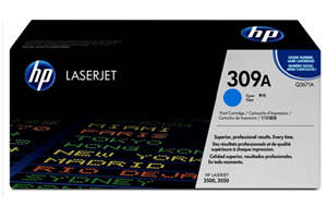 HP Q2671A 309A [OEM] Genuine Cyan Toner for LaserJet 3500 3550