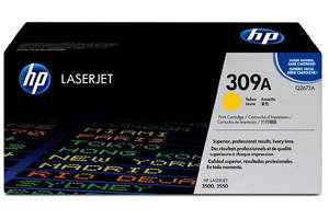 HP Q2672A 309A [OEM] Genuine Yellow Toner for LaserJet 3500 3550