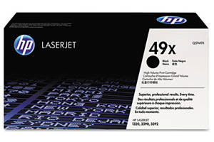 HP Q5949X / 49X [OEM] Genuine High Yield Toner for LaserJet 1320 3390