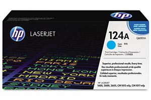 HP Q6001A [OEM] Genuine Cyan Toner Cartridge for LaserJet 1600 2600