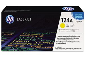 HP Q6002A [OEM] Genuine Yellow Toner Cartridge for LaserJet 1600 2600