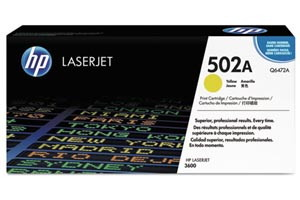 HP Q6472A [OEM] Genuine Yellow Toner Cartridge for LaserJet 3600 3600N