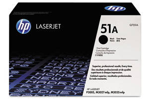 HP Q7551A / 51A [OEM] Genuine Toner Cartridge for LaserJet M3027 M3035