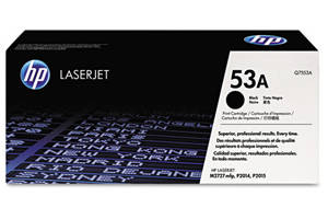 HP Q7553A / 53A [OEM] Genuine Toner Cartridge for LaserJet P2014 P2015