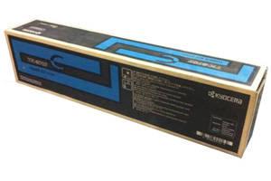 Kyocera Mita TK-8707C OEM Genuine Cyan Toner Cartridge