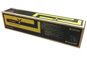 Kyocera Mita TK-8707Y OEM Genuine Yellow Toner Cartridge