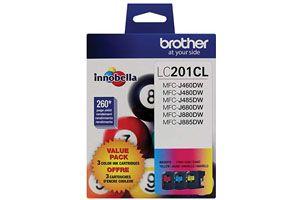 Brother LC2013PKS Tri Color OEM Genuine Ink Cartridge for MFC-J460DW