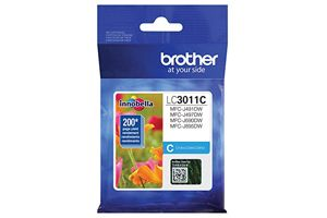 Brother LC3011C Cyan OEM Genuine Ink Cartridge For MFC-J491DW