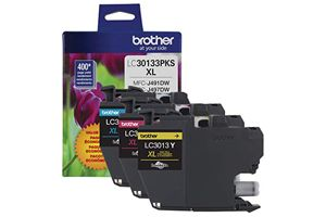 Brother LC3013 3-Pack C/Y/M OEM Genuine Ink Cartridge For MFC-J491DW