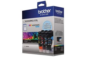 Brother LC3033 3PKS Color OEM Genuine Ink Cartridge for MFC-J995DW XL