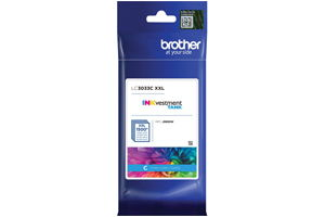 Brother LC3033C Cyan OEM Genuine Ink Cartridge for MFC-J995DW XL