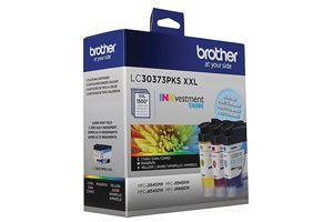 Brother LC3037 3PKS Color OEM Genuine Ink Cartridge for MFC-J5845DW XL