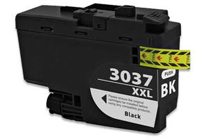 Brother LC3037BK Black Compatible High Yield Ink Cartridge