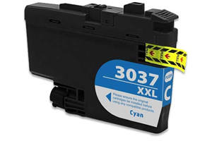 Brother LC3037C Cyan Compatible High Yield Ink Cartridge