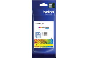 Brother LC3037Y Yellow OEM Genuine Ink Cartridge for MFC-J5845DW XL