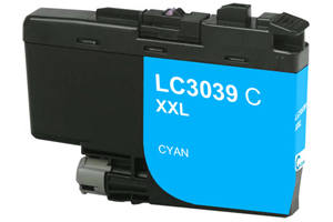 Brother LC3039C Cyan Compatible High Yield Ink Cartridge