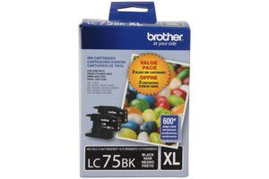 Brother LC752PKS Black OEM Genuine Ink Cartridge for MFC-J280W