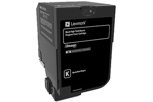 Lexmark 74C1HK0 20K Yield Black OEM Genuine Toner Cartridge for CS720
